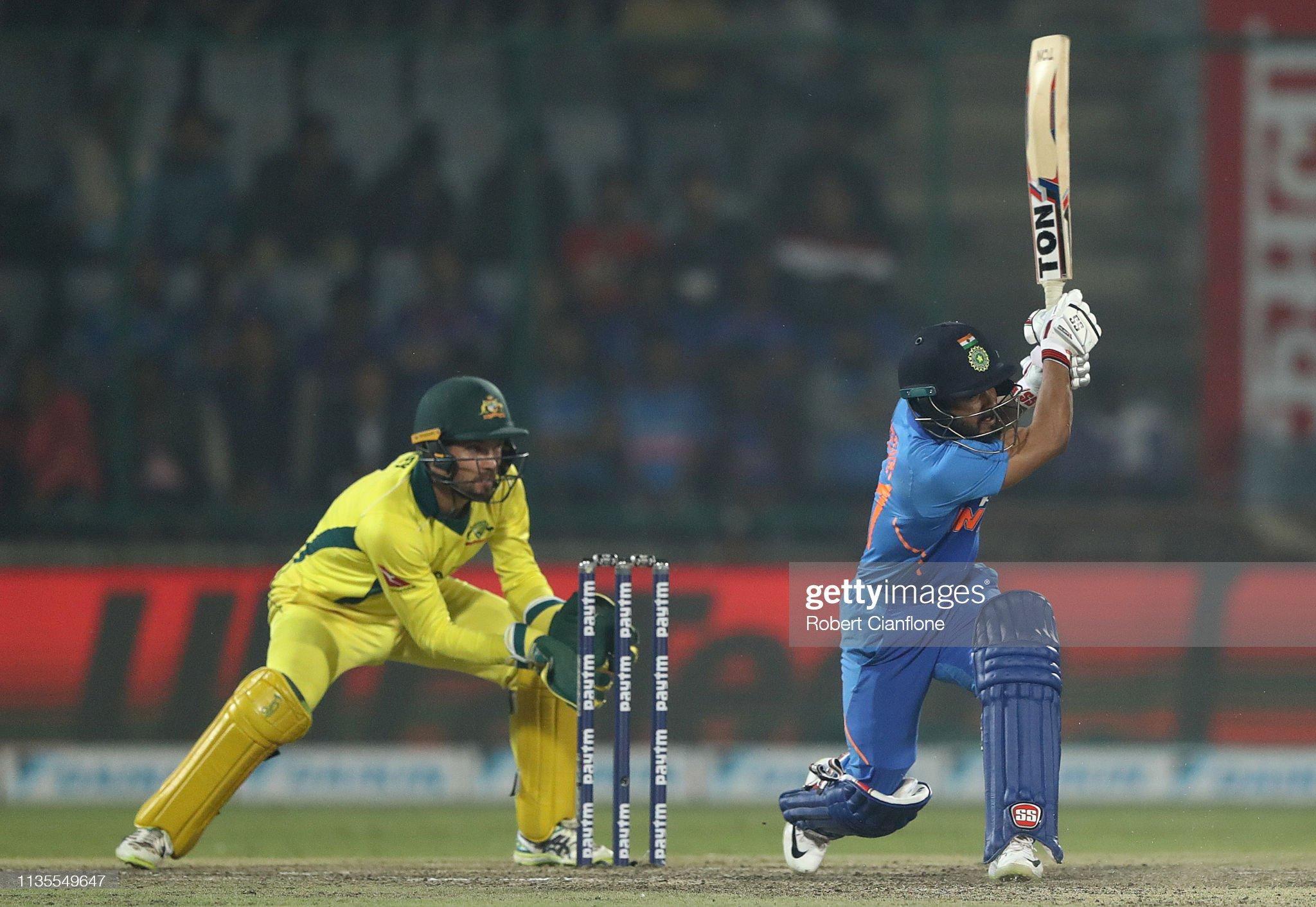 India v Australia - ODI Series: Game 5 : News Photo