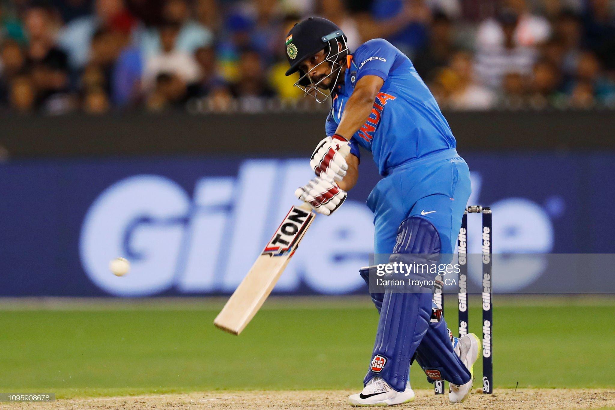 Australia v India - ODI: Game 3 : News Photo