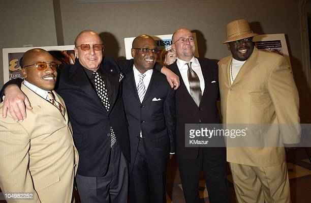 Kedar Massenburg President of Motown Records Clive Davis President of J Records LA Reid President of Arista and David Granger Editor inChief of...