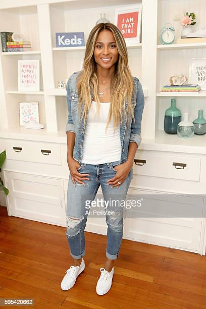 Keds Collective member Ciara celebrates Womens Equality Day at Chocolate Sun on August 25 2016 in Santa Monica California