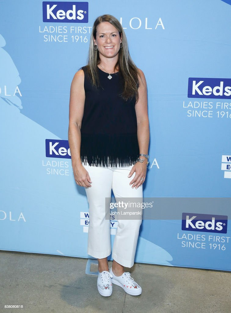 Keds Prsident, Gillian Meek attends Champion Equality. Make It Your Business Panel in celebration of Women's Equality Day at Neuehouse on August 23, 2017 in New York City.