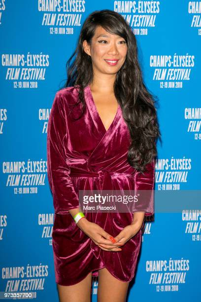 Kee Yoon Kim attends the 7th Champs Elysees Film Festival at Cinema Gaumont Marignan on June 12 2018 in Paris France