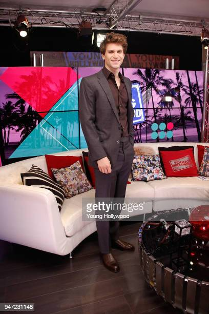 Keegan Allen visits the Young Hollywood Studio on April 16 2017 in Los Angeles California
