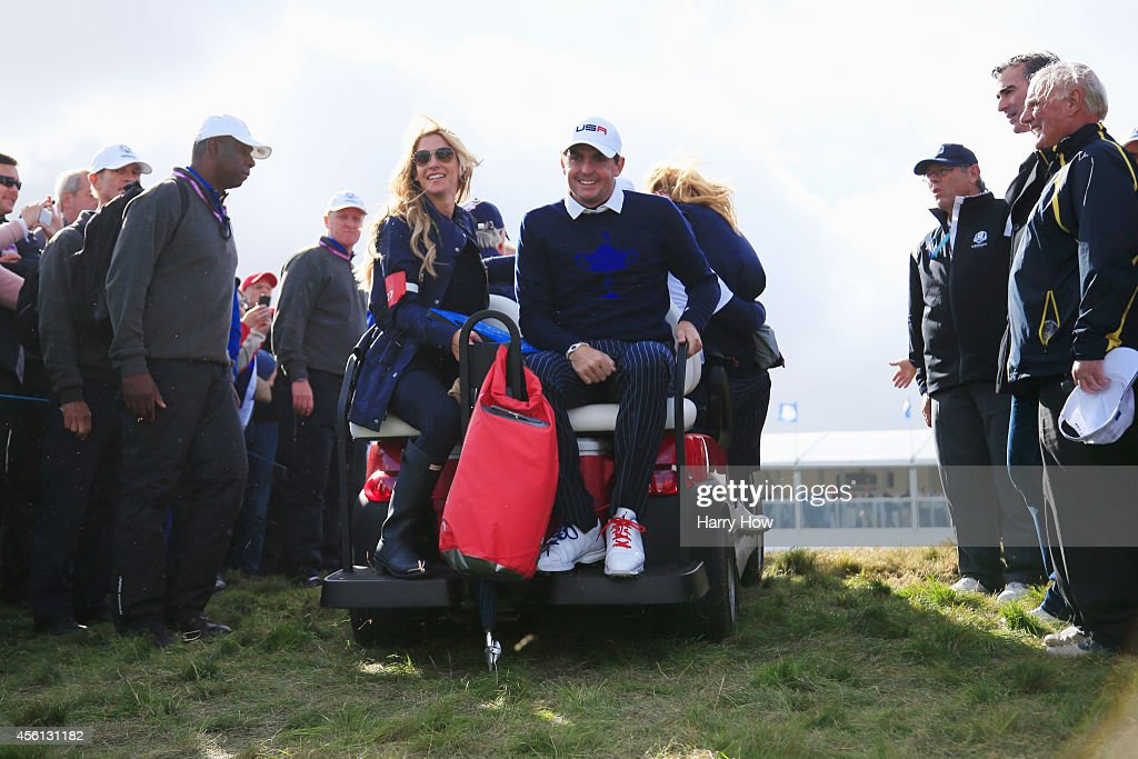 Morning Fourballs - 2014 Ryder Cup : News Photo