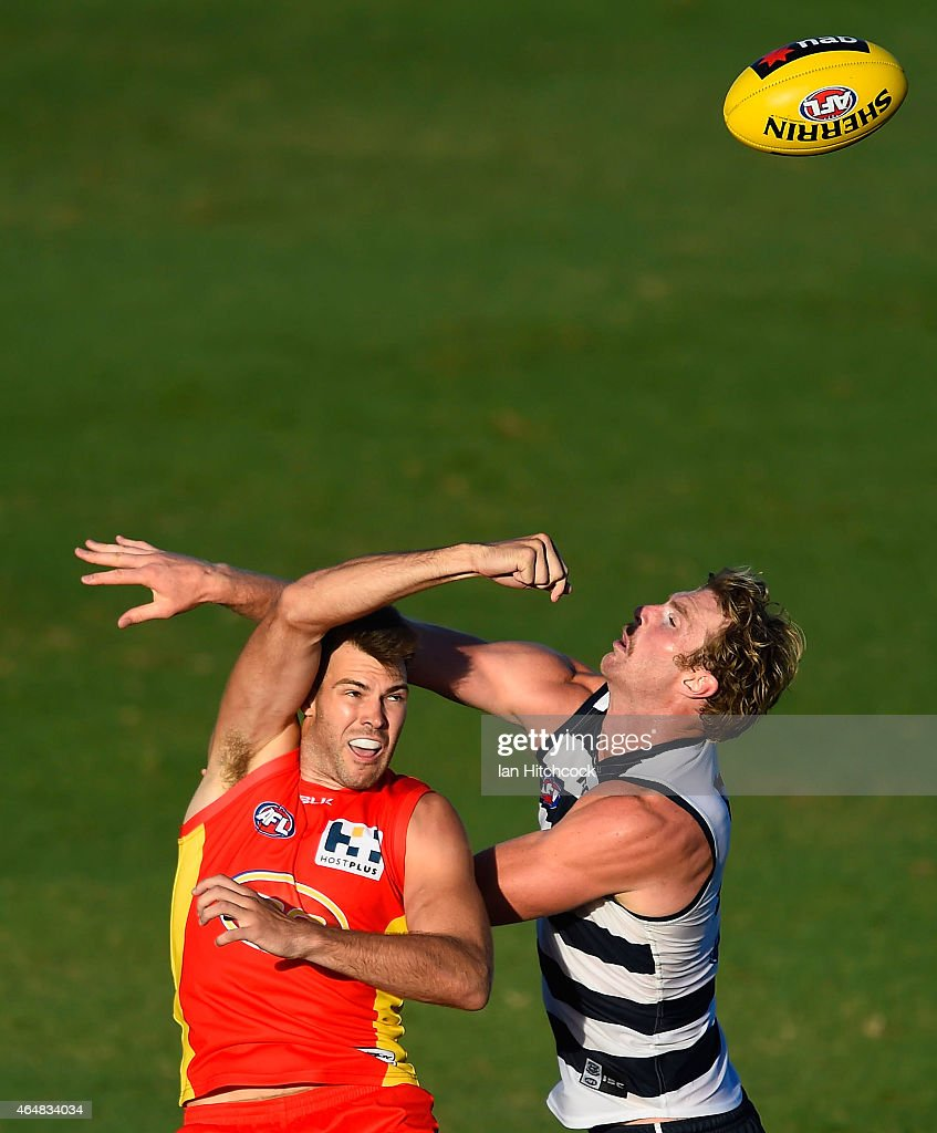 NAB Challenge - Gold Coast v Geelong