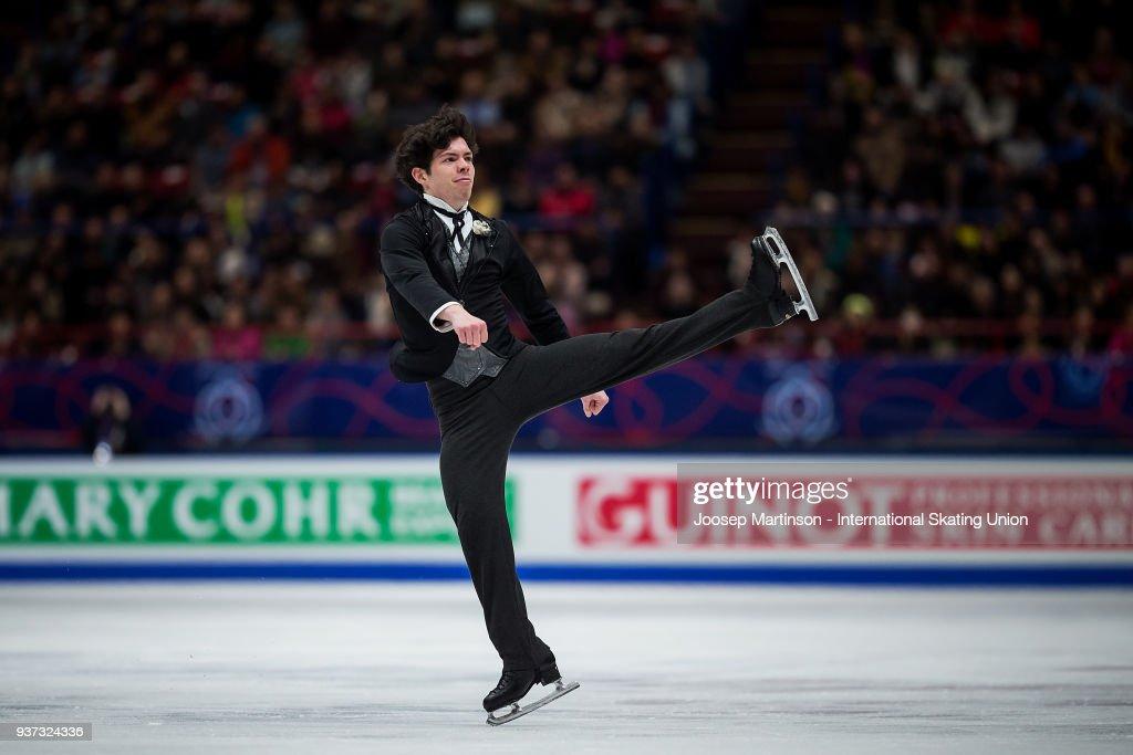 World Figure Skating Championships - Milano : Nachrichtenfoto