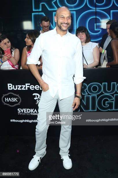 Keegan Michael Key attends the world premiere of 'Rough Night' at AMC Loews Lincoln Square 13 on June 12 2017 in New York City