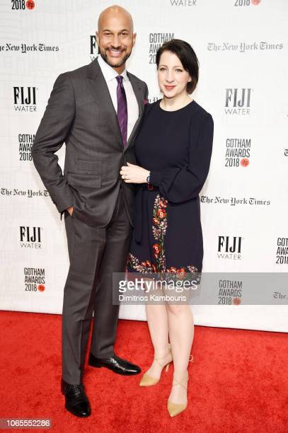 Keegan MichaelKey and Elisa Key attend IFP's 28th Annual Gotham Independent Film Awards at Cipriani Wall Street on November 26 2018 in New York City