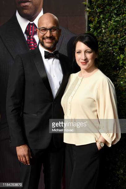 KeeganMichael Key and Elisa Pugliese attend the 47th AFI Life Achievement Award honoring Denzel Washington at Dolby Theatre on June 06 2019 in...