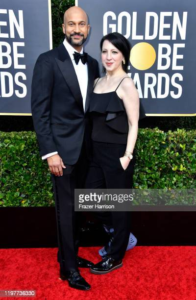 KeeganMichael Key and Elisa Key attend the 77th Annual Golden Globe Awards at The Beverly Hilton Hotel on January 05 2020 in Beverly Hills California