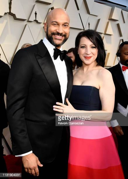 KeeganMichael Key and Elisa Key attend the 91st Annual Academy Awards at Hollywood and Highland on February 24 2019 in Hollywood California
