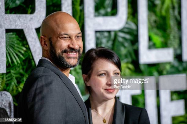 KeeganMichael Key and Elisa Key attend the 'Triple Frontier' World Premiere at Jazz at Lincoln Center on March 03 2019 in New York City