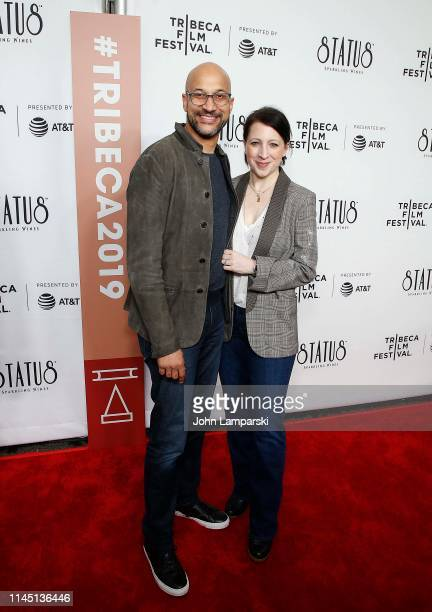 KeeganMichael Key and Elisa Pugliese attend Tribeca TV WuTang Clan Of Mics And Men at Beacon Theatre on April 25 2019 in New York City