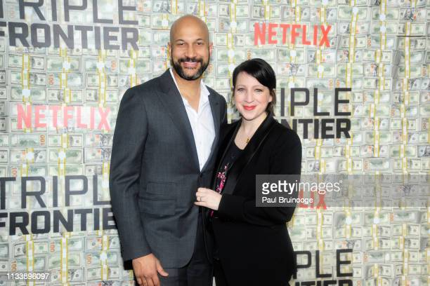 KeeganMichael Key and Elisa Key attend 'Triple Frontier' World Premiere at Jazz at Lincoln Center on March 3 2019 in New York City