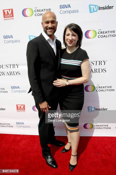 KeeganMichael Key and Elisa Pugliese at the Television Industry Advocacy Awards at TAO Hollywood on September 16 2017 in Los Angeles California