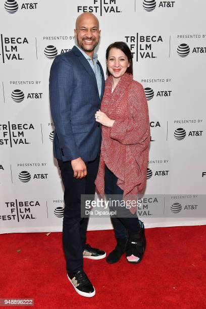 KeeganMichael Key and Elisa Pugliese attend a screening of 'Cargo' during the 2018 Tribeca Film Festival at SVA Theatre on April 19 2018 in New York...