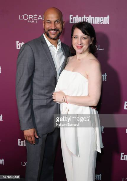 KeeganMichael Key and Elisa Pugliese attend the 2017 Entertainment Weekly PreEmmy Party at Sunset Tower on September 15 2017 in West Hollywood...