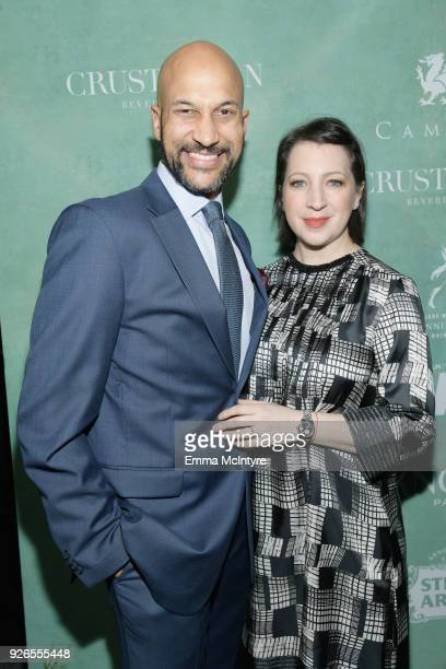 KeeganMichael Key and Elisa Pugliese attend Women In Film PreOscar Cocktail Party presented by Max Mara and Lancome with additional support from...