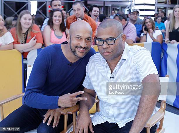 AMERICA KeeganMichael Key and Jordan Peele are guests on 'Good Morning America' 8/30/16 airing on the ABC Television Network KEEGAN