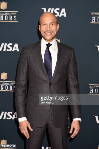 KeeganMichael Key attends 6th Annual NFL Honors at Wortham Theater Center on February 4 2017 in Houston Texas