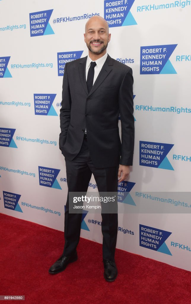 Keegan-Michael Key attends Robert F. Kennedy Human Rights Hosts Annual Ripple Of Hope Awards Dinner on December 13, 2017 in New York City.