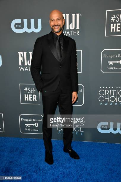 KeeganMichael Key attends the 25th Annual Critics' Choice Awards at Barker Hangar on January 12 2020 in Santa Monica California