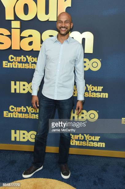 KeeganMichael Key attends the Curb Your Enthusiasm season 9 premiere at SVA Theater on September 27 2017 in New York City