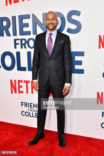 KeeganMichael Key attends the 'Friends From College' New York premiere at AMC 34th Street on June 26 2017 in New York City