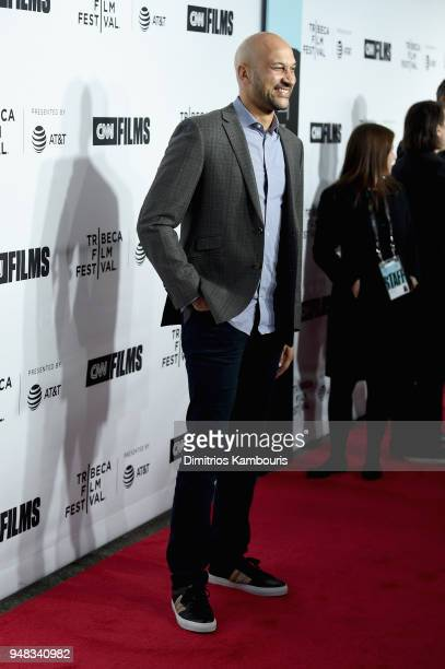 KeeganMichael Key attends the Opening Night Gala of 'Love Gilda' 2018 Tribeca Film Festival at Beacon Theatre on April 18 2018 in New York City