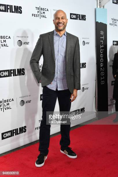 KeeganMichael Key attends the opening night gala of Love Gilda during the 2018 Tribeca Film Festival at Beacon Theatre on April 18 2018 in New York...