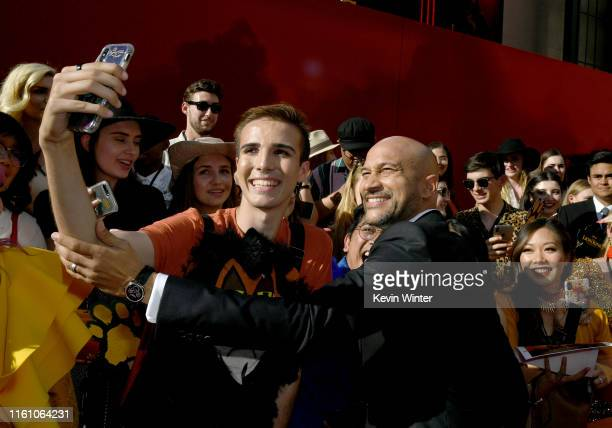 """Keegan-Michael Key attends the premiere of Disney's """"The Lion King"""" at Dolby Theatre on July 09, 2019 in Hollywood, California."""