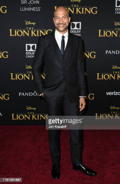 KeeganMichael Key attends the Premiere Of Disney's The Lion King at Dolby Theatre on July 09 2019 in Hollywood California