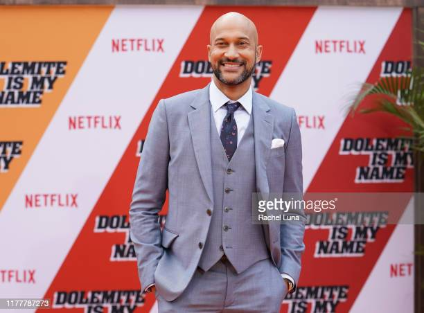 KeeganMichael Key attends the LA premiere of Netflix's Dolemite Is My Name at Regency Village Theatre on September 28 2019 in Westwood California