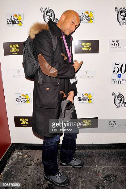 KeeganMichael Key attends the The Official 'Morris From America' After Party at Bar 53 at Rock Reilly's and 50 Bleu Lounge on January 22 2016 in Park...