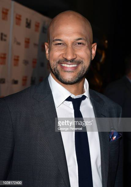 """Keegan-Michael Key attends the """"The Predator"""" premiere during the 2018 Toronto International Film Festival at Ryerson Theatre on September 6, 2018 in..."""