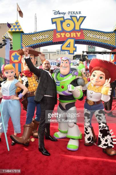 KeeganMichael Key attends the world premiere of Disney and Pixar's TOY STORY 4 at the El Capitan Theatre in Hollywood CA on Tuesday June 11 2019