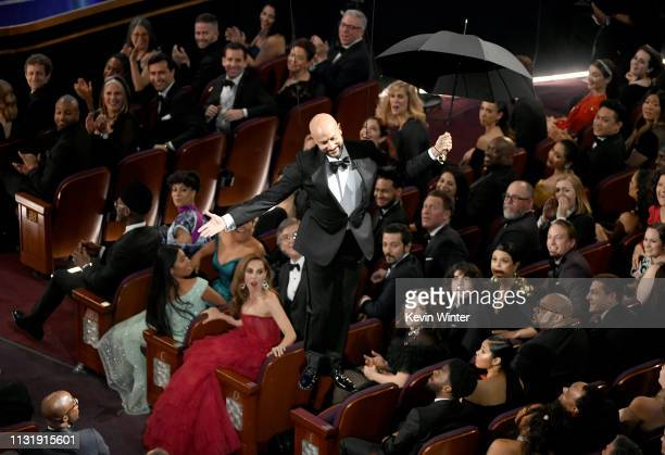 KeeganMichael Key descends to the floor during the 91st Annual Academy Awards at Dolby Theatre on February 24 2019 in Hollywood California