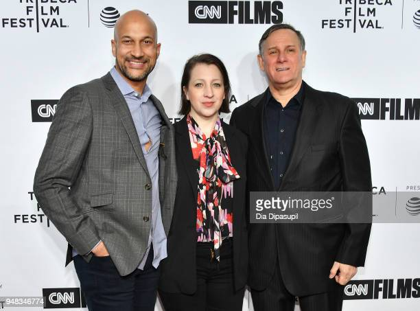 KeeganMichael Key Elisa Pugliese and Craig Hatkoff attend the opening night gala of 'Love Gilda' during the 2018 Tribeca Film Festival at Beacon...