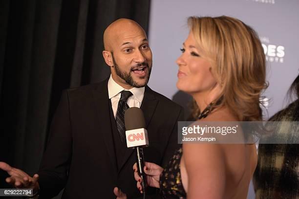 Keegan-Michael Key is interviewed by Brooke Baldwin during CNN Heroes Gala 2016 at the American Museum of Natural History on December 11, 2016 in New...