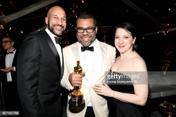 KeeganMichael Key Jordan Peele and Elisa Pugliese attend the 2018 Vanity Fair Oscar Party hosted by Radhika Jones at Wallis Annenberg Center for the...