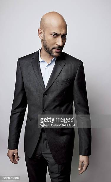 KeeganMichael Key poses for a portraits at the BAFTA Tea Party at Four Seasons Hotel Los Angeles at Beverly Hills on January 7 2017 in Los Angeles...
