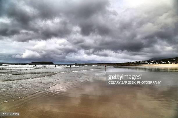 Keel bay, Achill island, County Mayo, Ireland