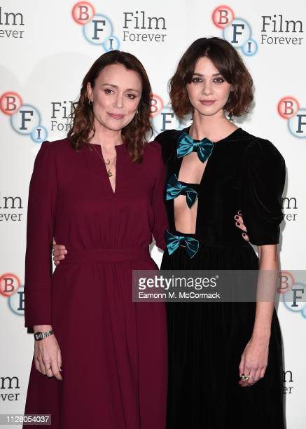 Keeley Hawes and Emma Appleton attend a photocall for new Channel 4 drama TRAITORS held at BFI Southbank on February 07 2019 in London England