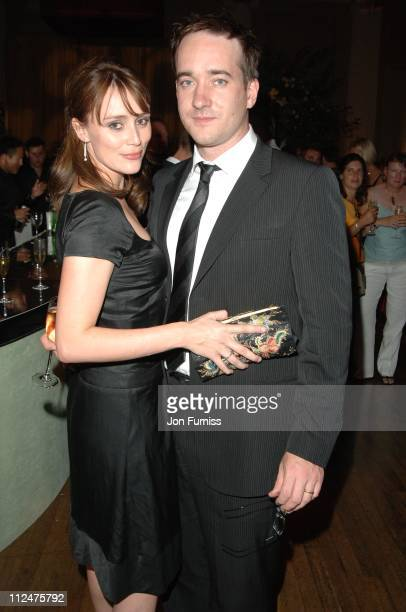 Keeley Hawes and Matthew MacFadyen during Pride Prejudice London Premiere After Party in London Great Britain