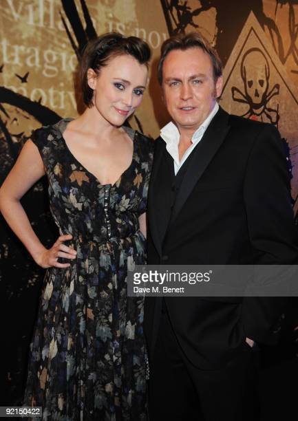 Keeley Hawes and Philip Glenister attend the Specsavers Crime Thriller Awards at the Grovesnor House Hotel on October 21 2009 in London England