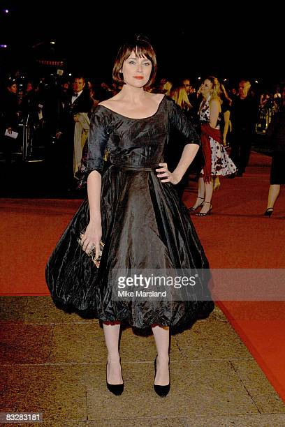 Keeley Hawes arrives at the London Film Festival Opening Night Gala of Frost / Nixon at the Odeon Leicester Square October 15 2008 in London England