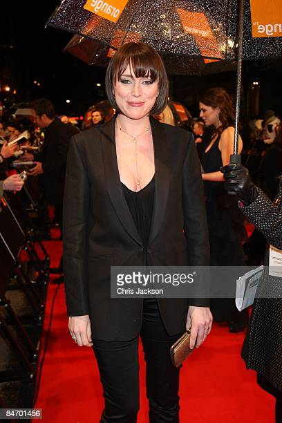 Keeley Hawes arrives for the Orange British Academy Film Awards 2009 at the Royal Opera House on February 8 2009 in London England