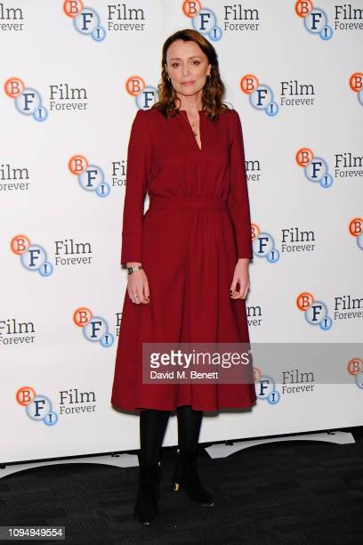 Keeley Hawes attends a photocall for new Channel 4 drama Traitors at the BFI Southbank on February 7 2019 in London England
