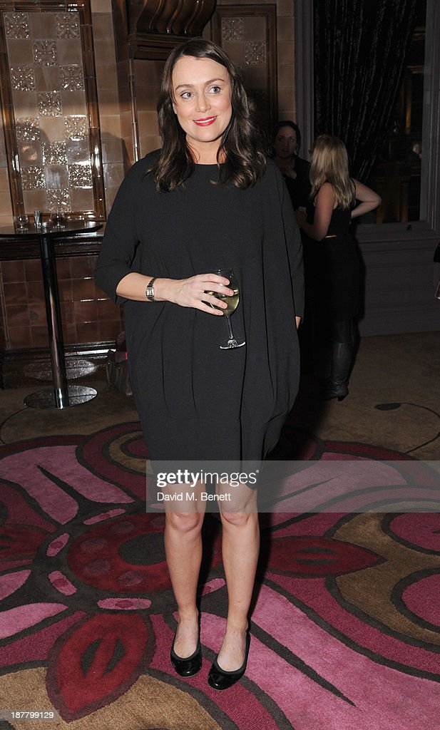 Keeley Hawes attends an after party celebrating the press night performance of 'Perfect Nonsense' at the The Royal Horseguards on November 12, 2013 in London, England.