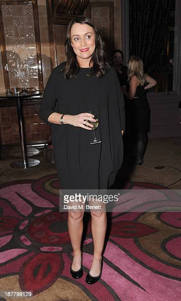 Keeley Hawes attends an after party celebrating the press night performance of 'Perfect Nonsense' at the The Royal Horseguards on November 12 2013 in...